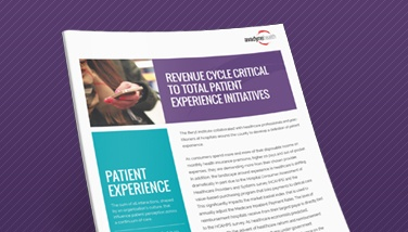 Revenue Cycle Critical to Total Patient Experience Initiatives
